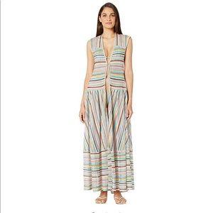 NWT Missoni Mare Striped Cover up dress multi 40